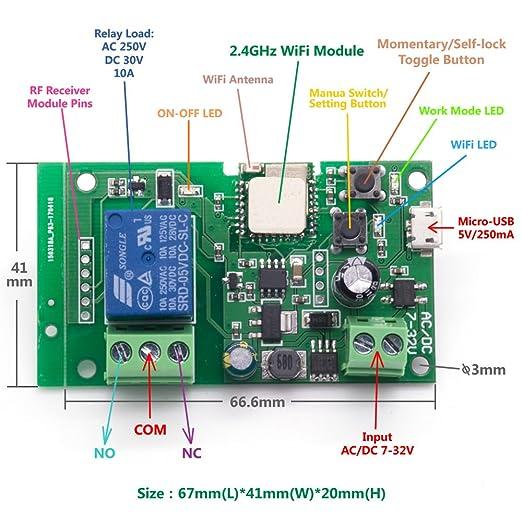 Wifi Smart Relay