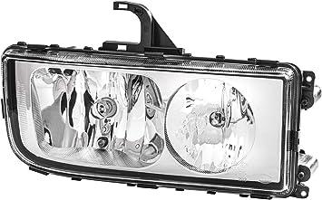 FF//Halogen HELLA 1EE 009 948-051 Headlight 12V Left H15//H7//H7//PY21W//W5W