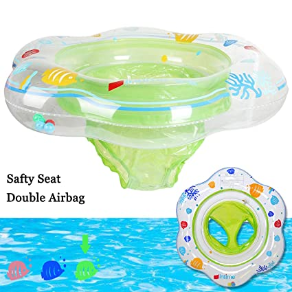Baby Swimming Ring Float with Seat Learning swimming safty Ring Water Fun