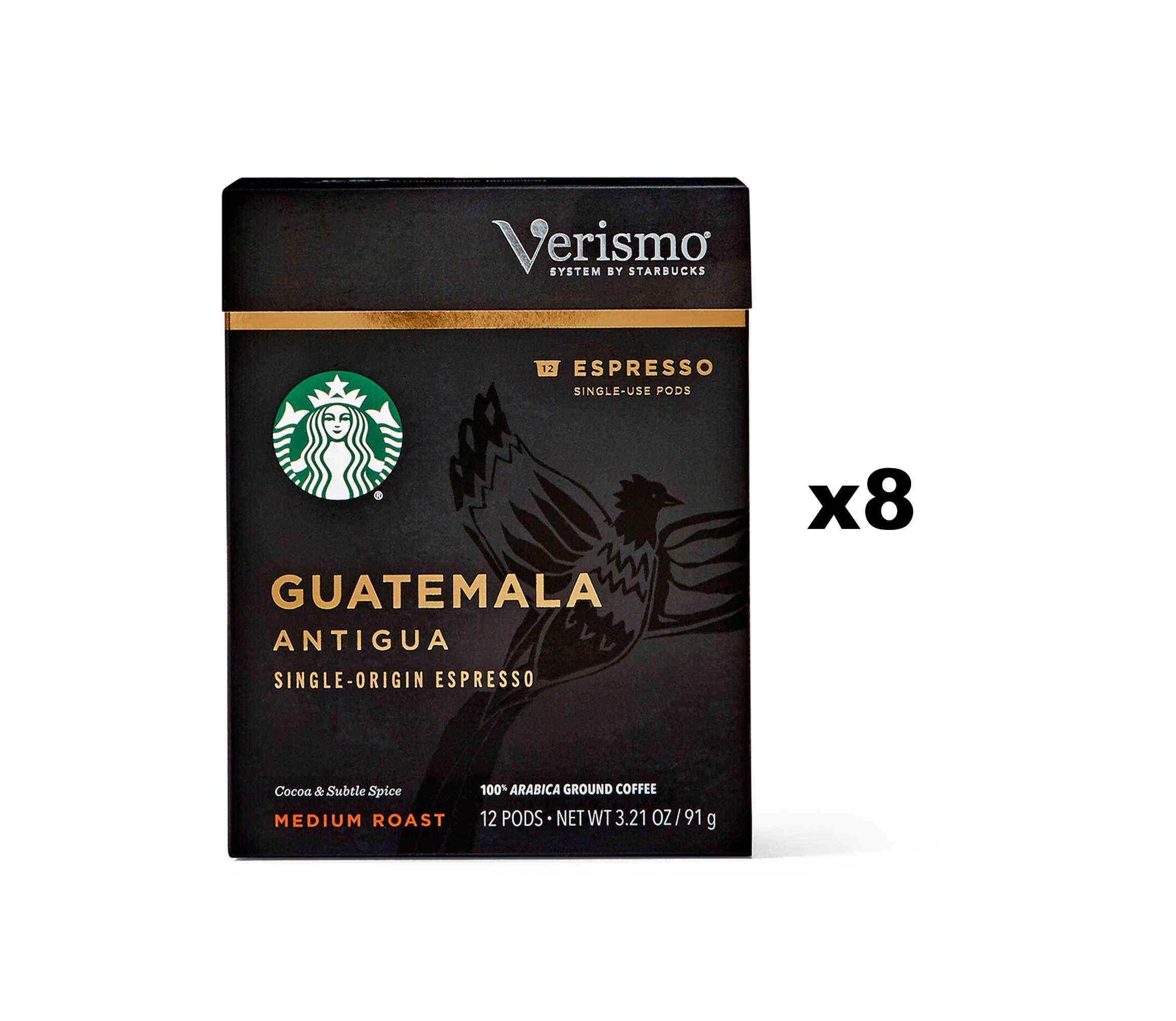 Starbucks Guatemala Antigua Espresso Verismo Pods (96 Count)