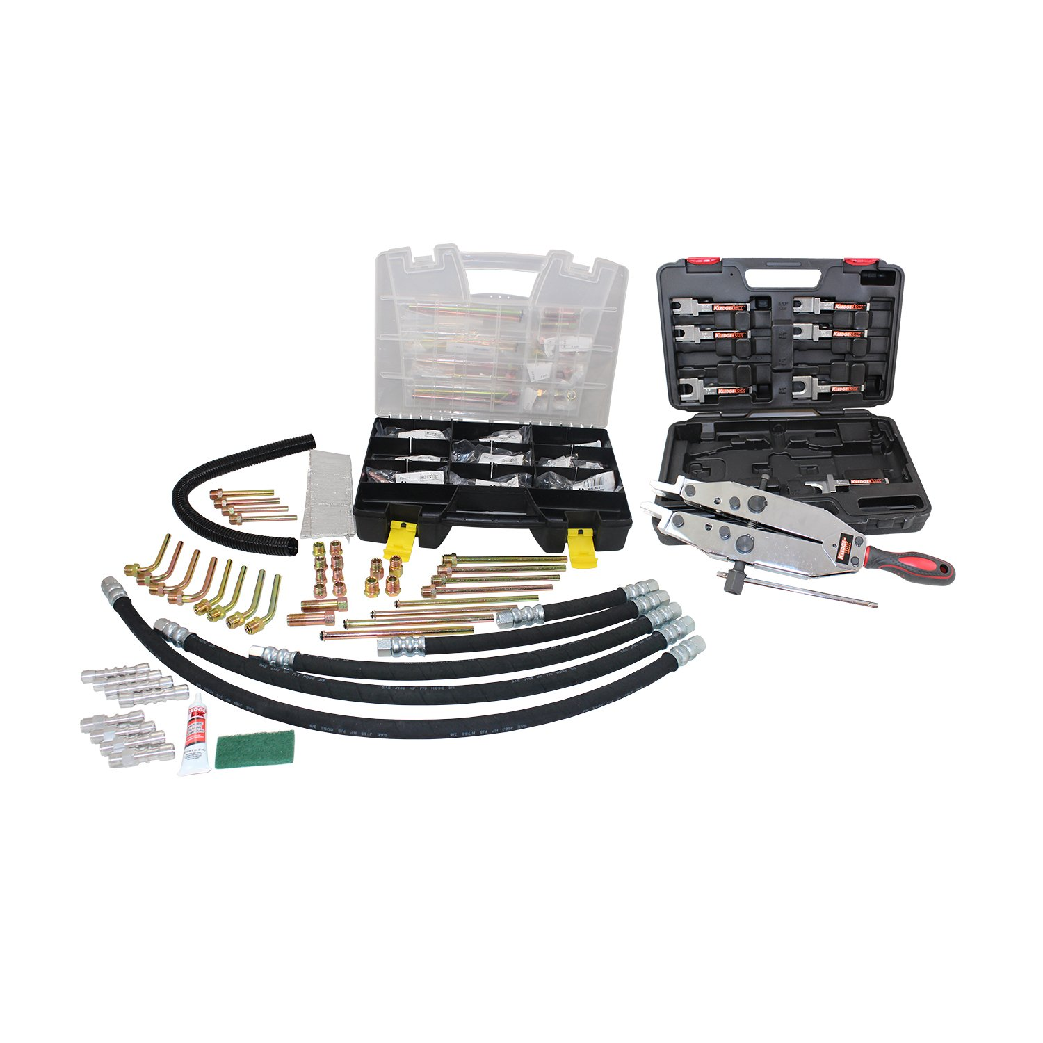 AGS Power Steering, Repair Kit, Master Kit (includes tacklebox, hoses, and tool)