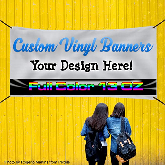 Custom Industrial Vinyl Banner Multiple Sizes ATM Style B Personalized Text Here Business Outdoor Weatherproof Yard Signs Teal 10 Grommets 60x120Inches