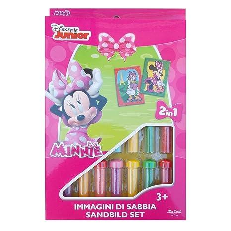 Set Gioco Minnie E Daisy Disney Bambina Immagini Di Sabbia 2 In 1
