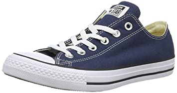 028867644d0f85 Image Unavailable. Image not available for. Color  Converse Unisex Chuck  Taylor All Star Ox Low Top Navy Sneakers ...