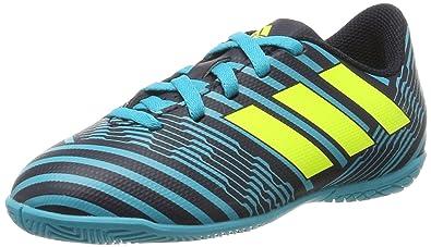 adidas Unisex-Kinder NEMEZIZ Tango 17.3 in Fußballschuhe, Weiß (Footwear White/Solar Yellow/Core Black), 36 2/3 EU