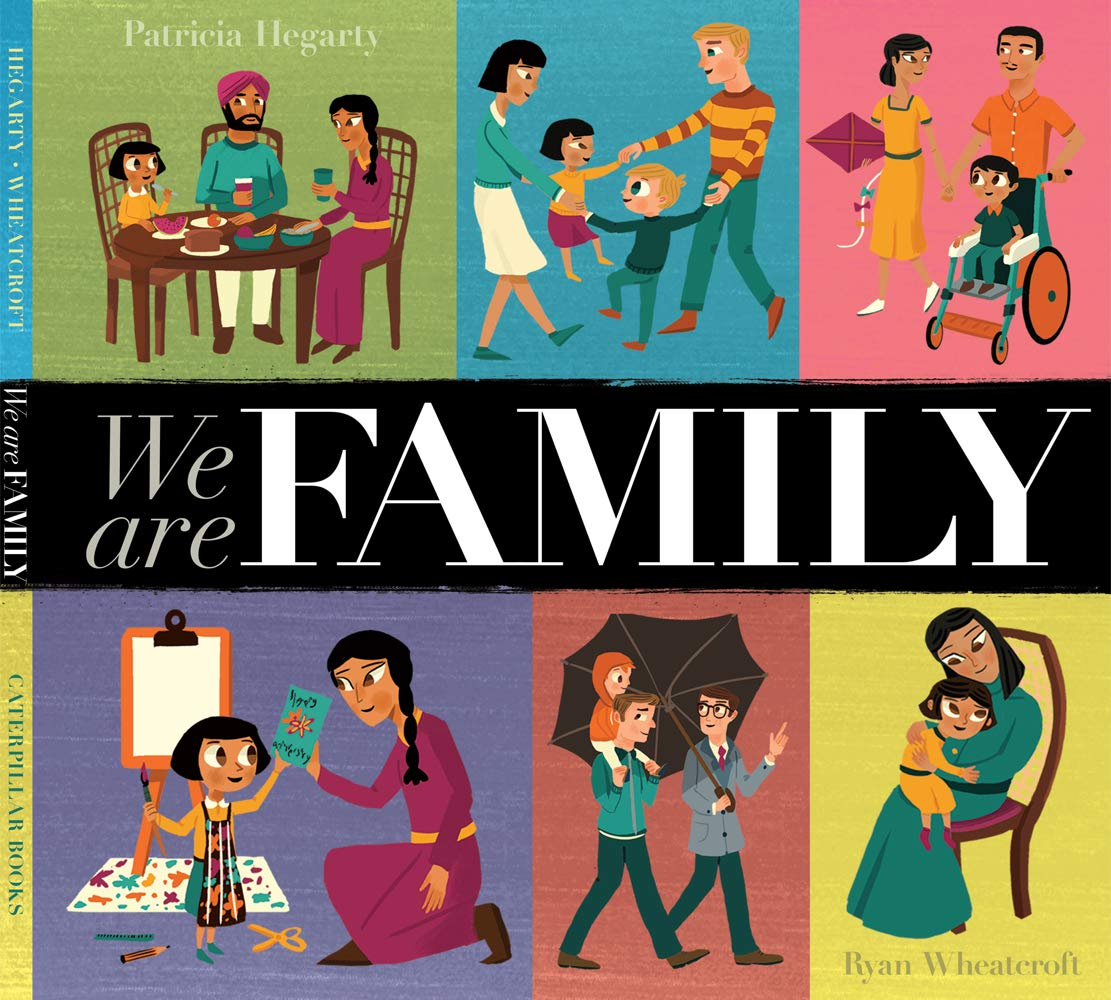 We Are Family: Amazon.co.uk: Wheatcroft, Ryan, Hegarty, Patricia: Books