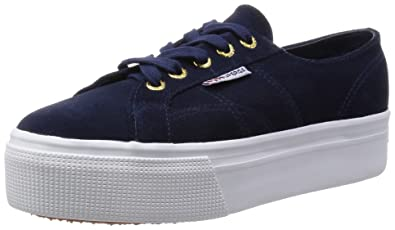 2790-suew, Womens Flatform Pumps Superga