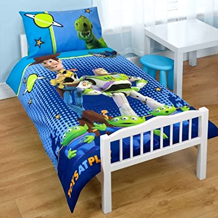 Toy Story Junior Toddler Cot Bed Quilt Cover Bedding Set Amazon