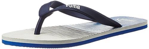 Puma Unisex s Sam Idp Glacial Blue and Puma Royal Flip Flops Thong Sandals  - 11 UK 8926924dd