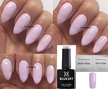 Bluesky Carefree Pale Pink Lilac Brand New Summer 2018 Colour Nail