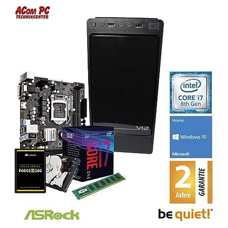 Acom Oferta del Mes, Intel Core i7 - 8700, 8 GB RAM, 120 GB SSD + ...