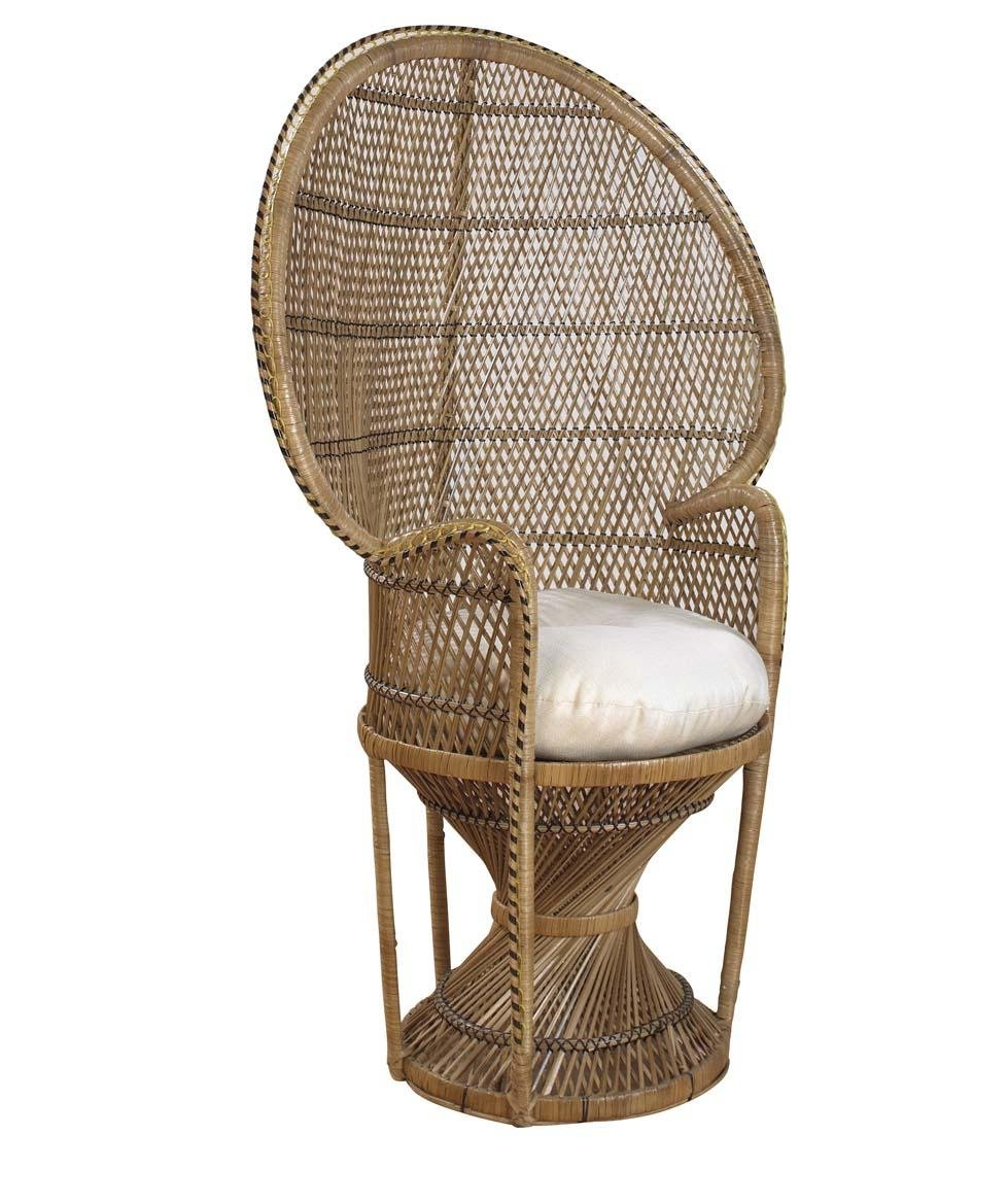Perfect Amazon.com : Peacock Buri Arm Chair Finish: Natural : Living Room Furniture  Sets : Garden U0026 Outdoor