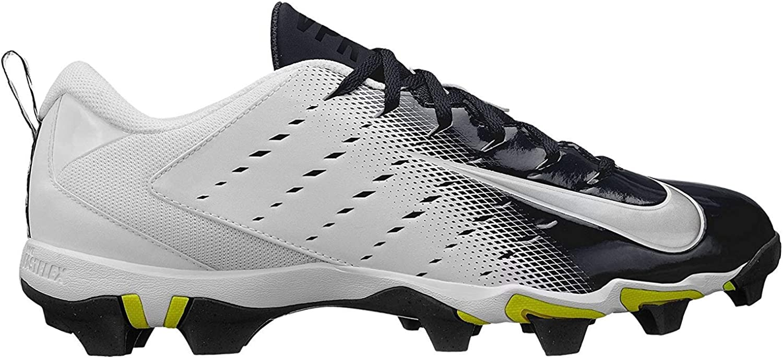 Nike Men's Vapor Shark 3 Football Cleats (6.5, 白い/黒)