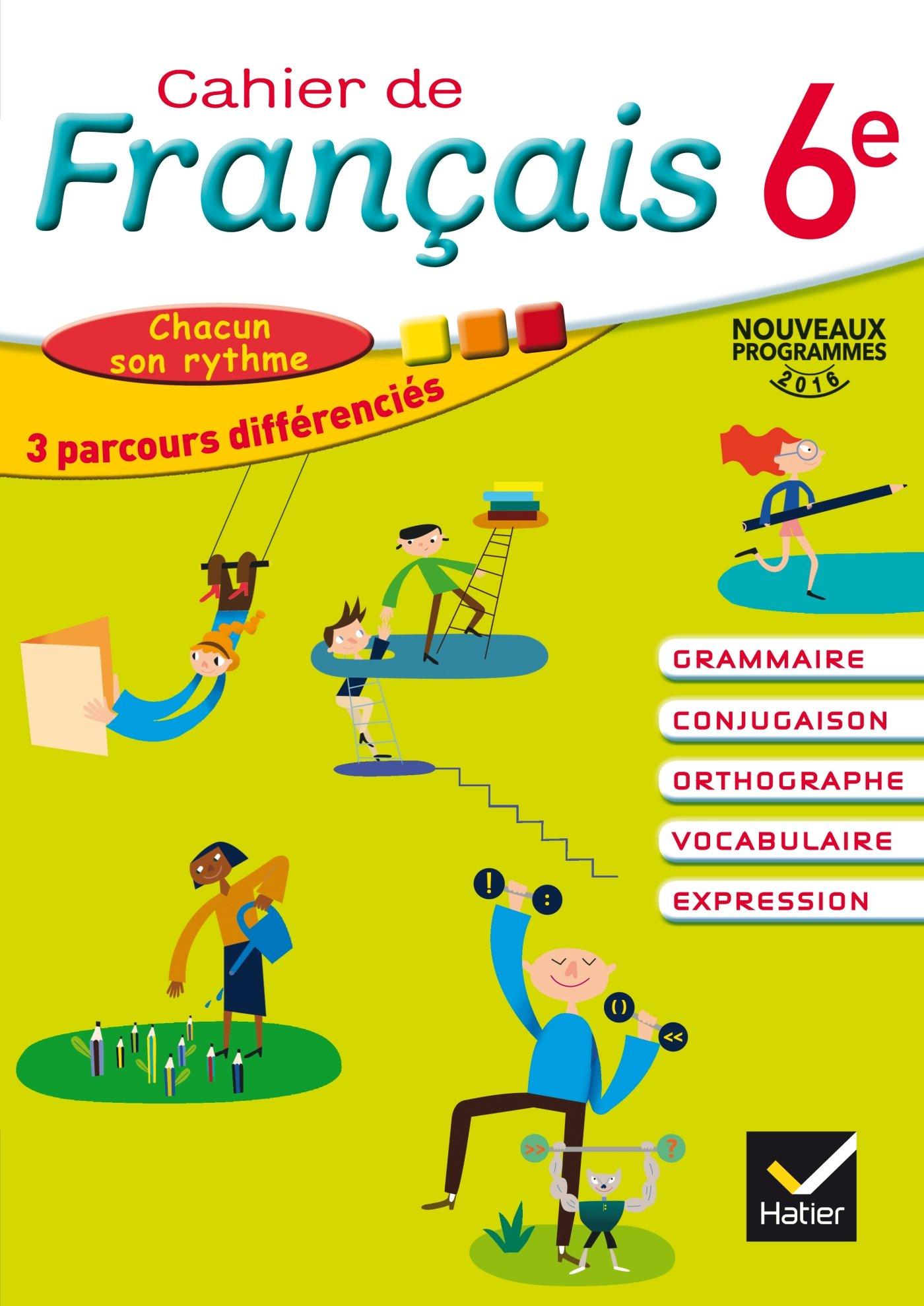 Cahier De Francais 6e Ed 2016 Cahier De L Eleve Amazon