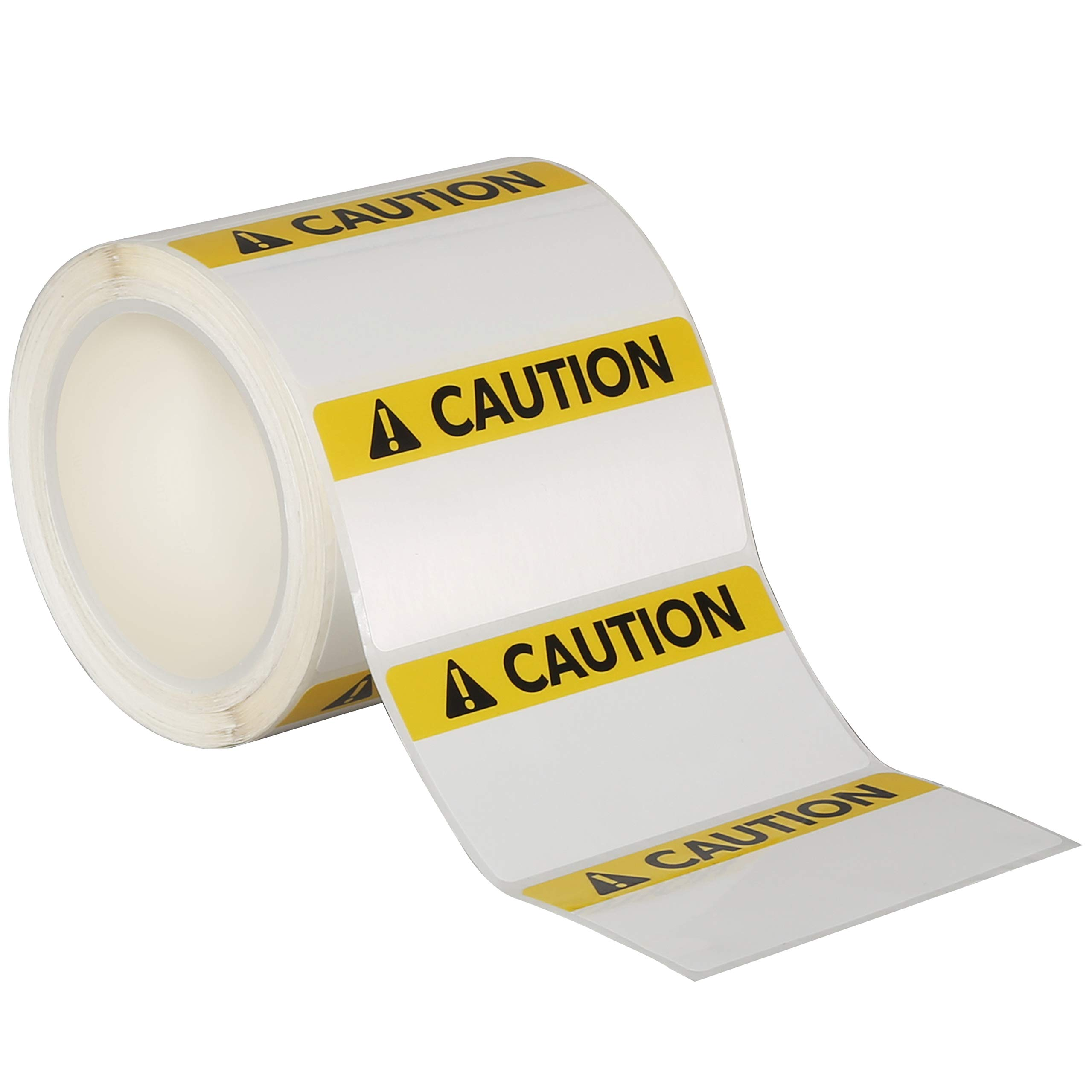 Avery Caution Header Sign Roll of 350 Labels for Thermal Transfer Printers, 4'' x 2'' (61216) by Avery (Image #2)