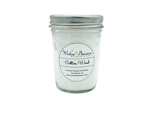 Wood Wick FREEDOM 8 oz Jelly Jar Triple Layer Candle Wicksy Business Coconut-Paraffin Wax Blend