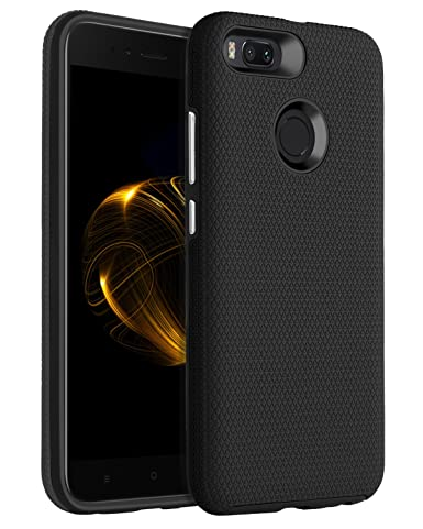 Bentoben Xiaomi Mi A1 Case, Xiaomi Mi 5 X Case, Dual Layer Ultra Slim Thin Fit Shockproof Heavy Duty Protective Case For Xiaomi Mi 5 X / Mi A1 (5.5 Inch)   Black by Bentoben
