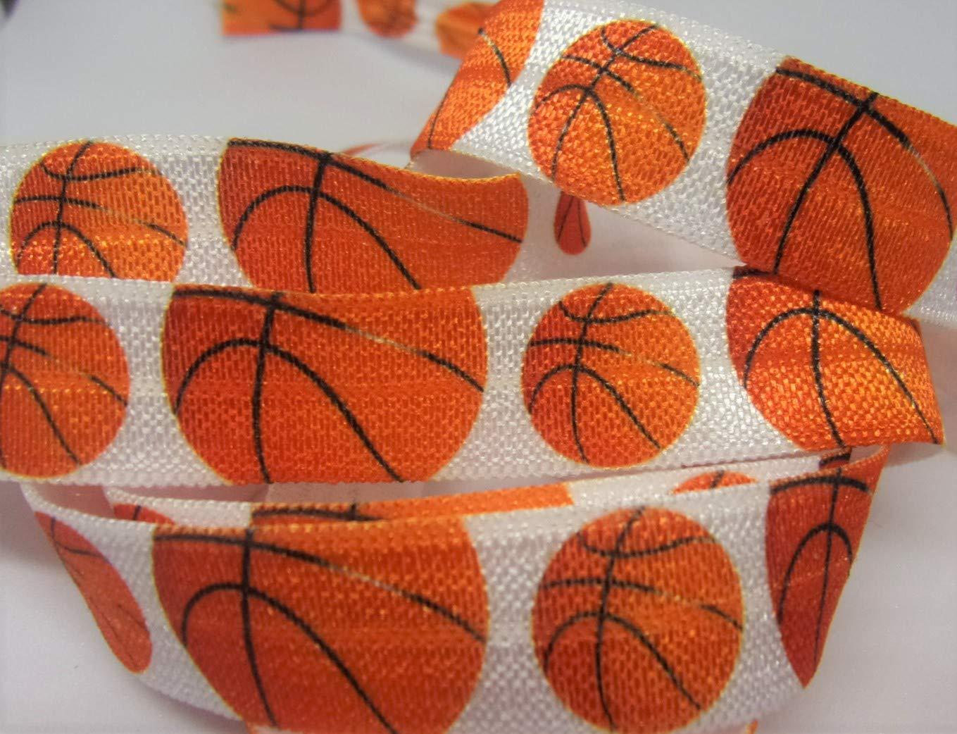 Fold Over Elastic - Balón de baloncesto FOE - Blanco elástico con ...