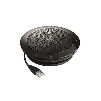 90c32188225 Jabra Speak 510 MS USB/Bluetooth Portable Audio Conferencing Speaker phone  Microsoft Certified
