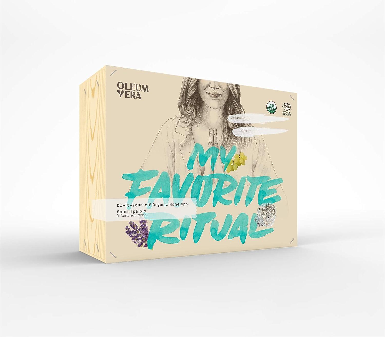 Oleum Vera 101083 Do-it-Yourself Organic Home Spa kit