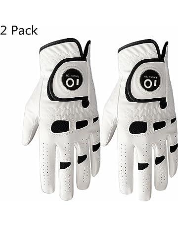Lot de 2 gants de golf pour homme, main gauche et main droite avec marqueur e46f3dcf242