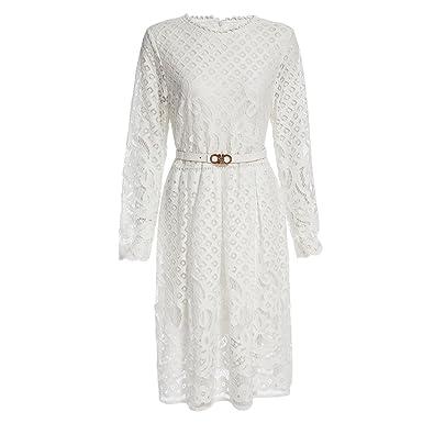 Eloise Isabel Fashion Mulheres do partido lace dress mais novo NEW bela lace floral escavar vestidos