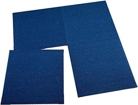 casa pura Dalle Moquette Int/érieur Moquette Auto Portante Avec Motif Rev/êtement de Sol 50x50 cm 4 Pi/èces - 1m/² 1m/² // 3m/² ou 6m/² Bleu