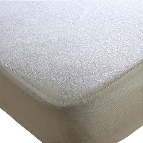 Sweet Home Protector de colchón de Rizo Impermeable para Cama Individual pequeña