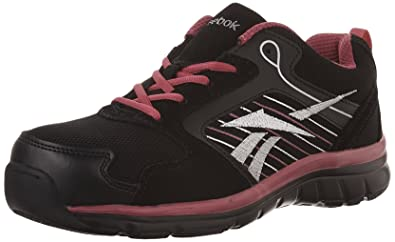 4383829a2fde83 Amazon.com  Reebok Work Women s Anomar RB454 Athletic Safety Shoe  Shoes