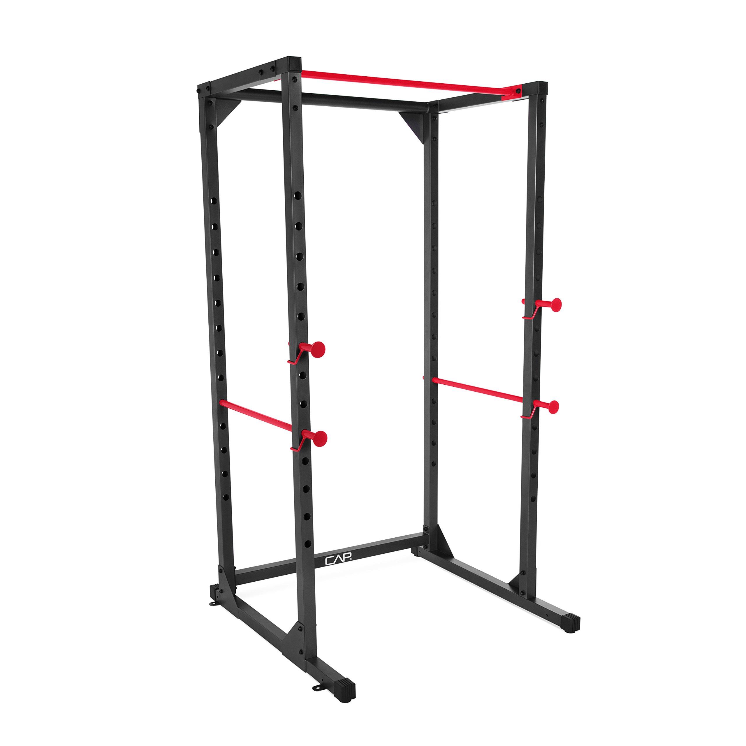 CAP Barbell Full Cage 7/' foot Power Rack Squat Rack Bench Press Pull Up Bar