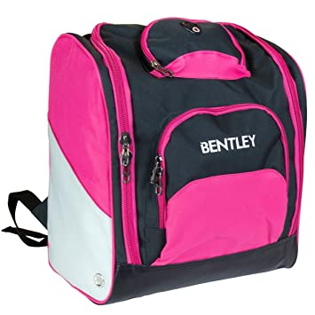 Charles Bentley Women s Deluxe Ski Boot Bag Rucksack Backpack Winter Sports  Holdall - Pink 00eb9cd43c500