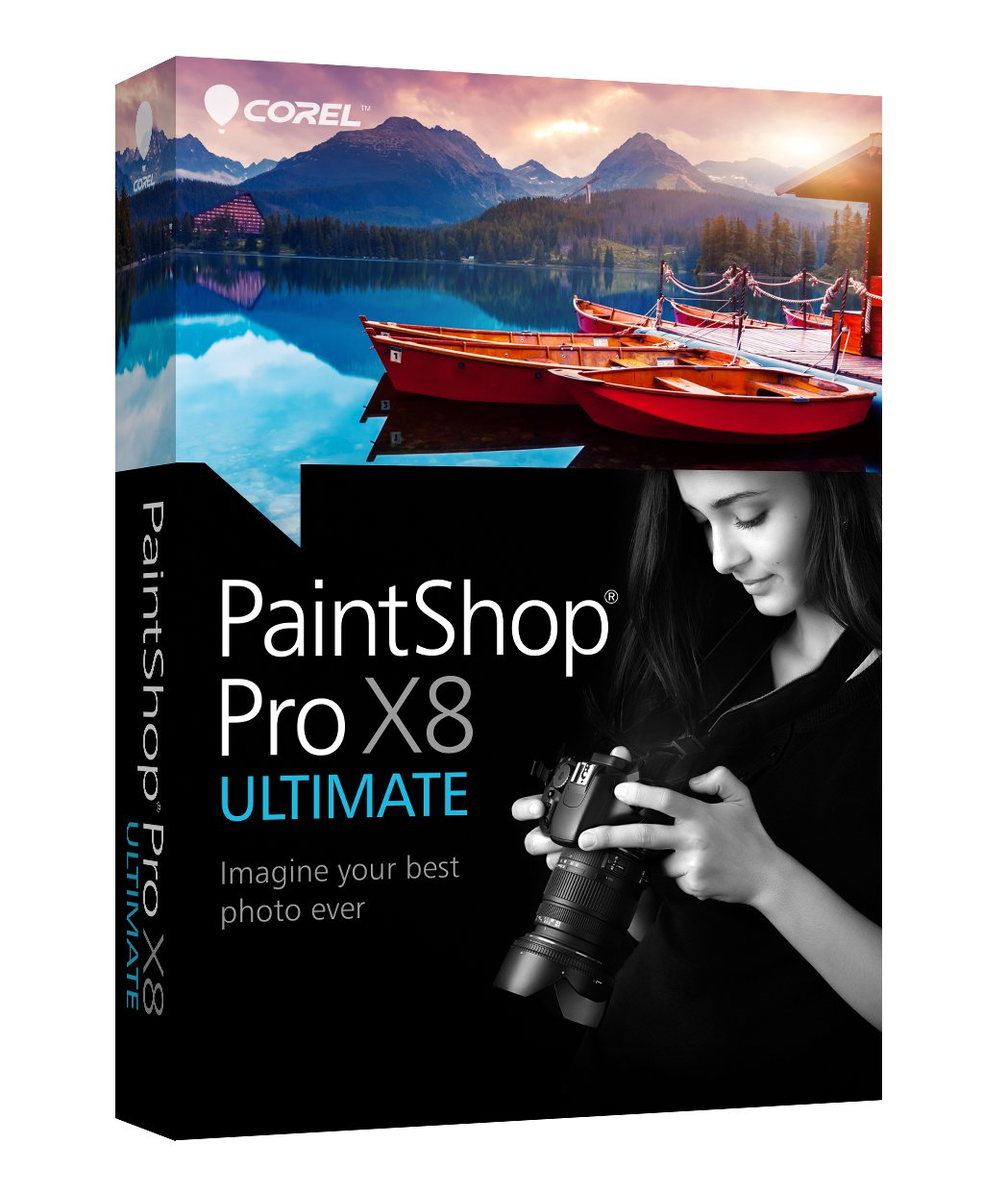 Corel PaintShop Pro X8 Ultimate [Old Version]