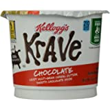 Kellogg's Krave Milk Chocolate Cereal in A Cup, 1.87 Ounce (Pack of 12)