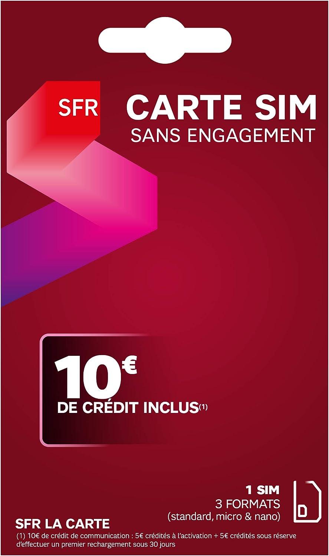 The Sfr Sim Card 3 In 1 Amazon Co Uk Electronics