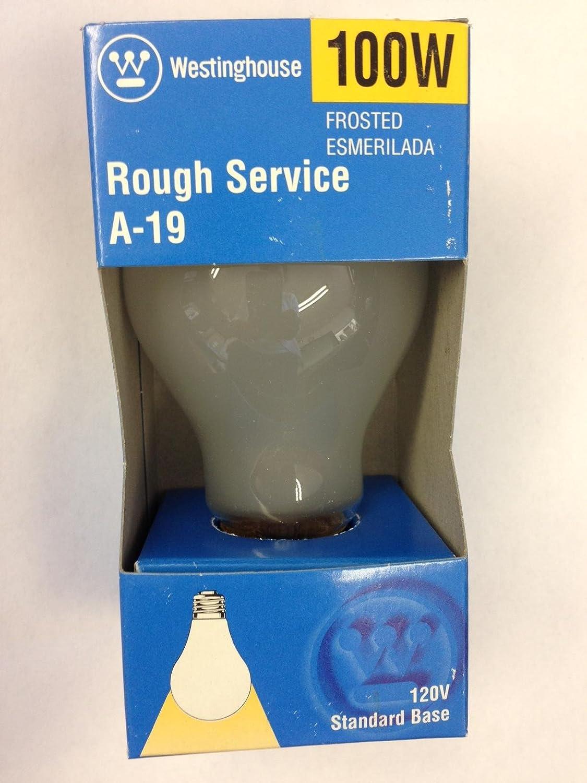 Westinghouse 03954 100 Watt Rough Service Light Bulb 120v