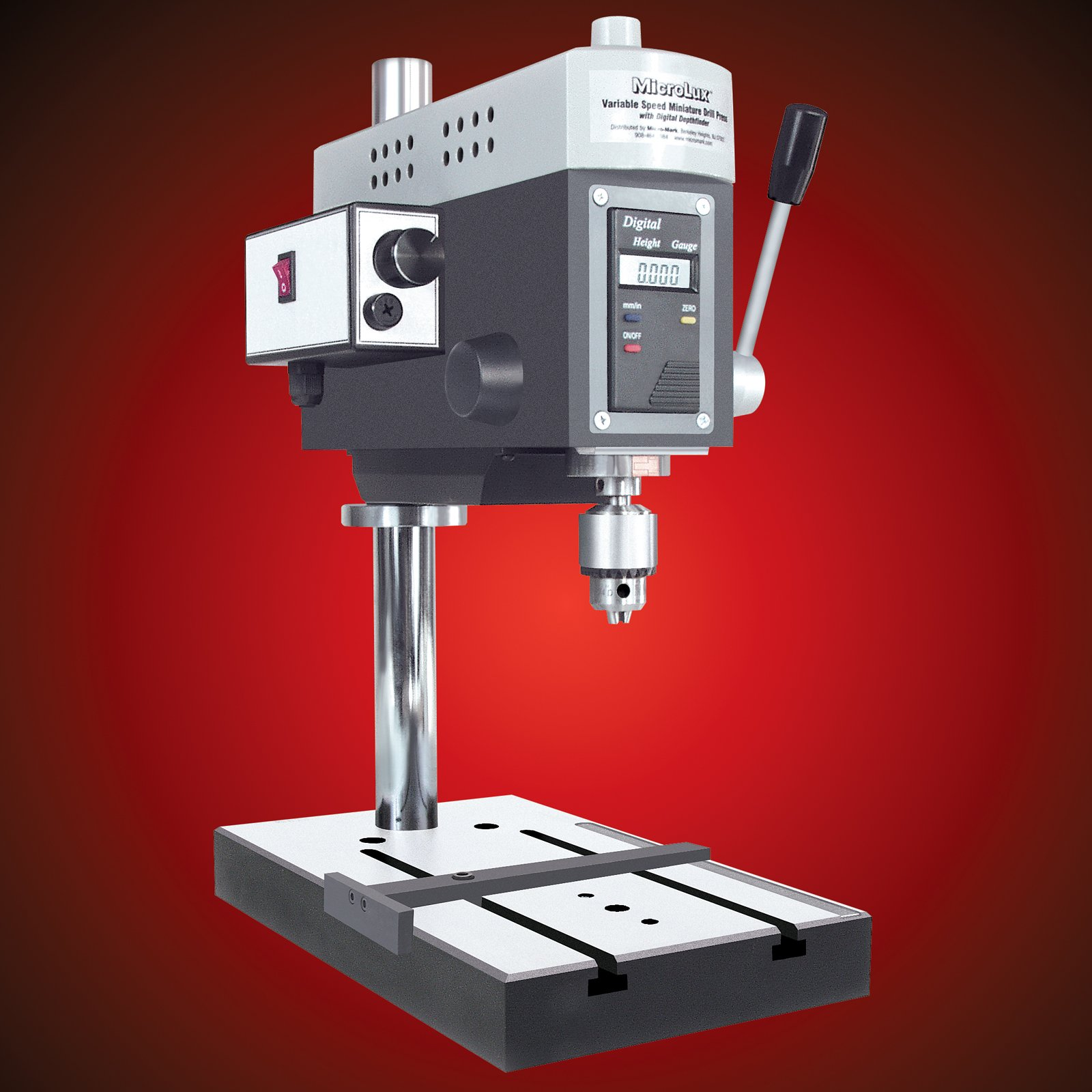 MicroLux Benchtop Variable Speed Mini Hobby Drill Press