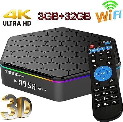 TV Box, Super de VIP Caja 4 K Smart TV Android 7.1 Amlogic 912 ...