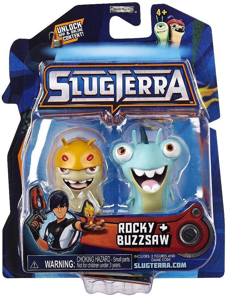 Slugterra Mini Figure 2-Pack: Rocky & Buzzsaw: Amazon.es: Juguetes y juegos