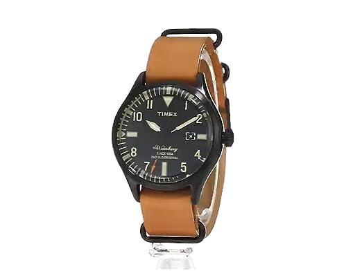 a520a5275 Amazon.com: Timex Men's TW2P64700ZA The Waterbury Analog Display Analog  Quartz Brown Watch: Timex: Watches