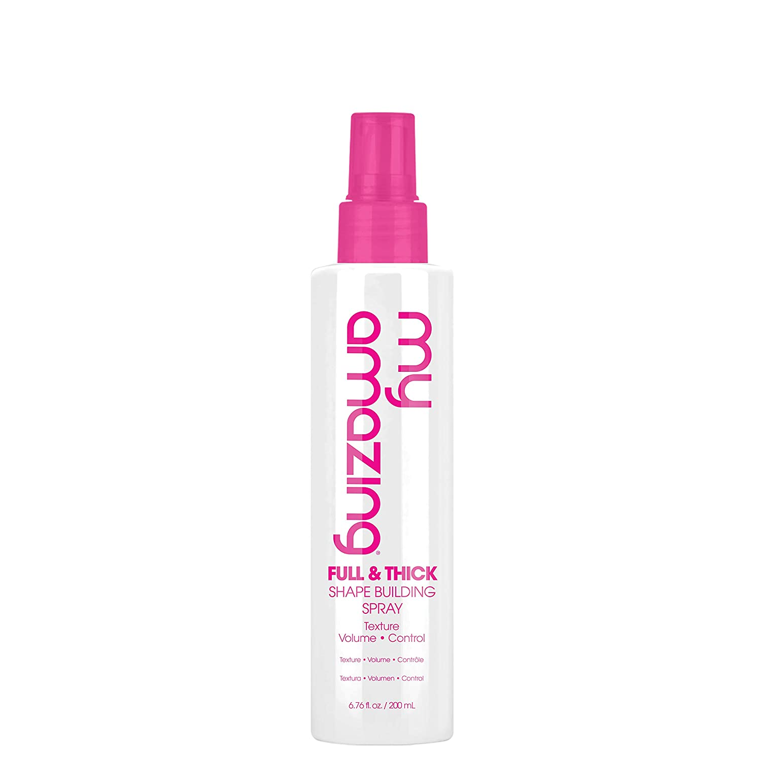 My Amazing Full & Thick Shape Building Spray, 6.76 oz. - Styling Spray for Women and Men, Volumizing and Thickening Texture Mist - Finishing Styling Mister for All Hair Types, Nourishing and Detangler