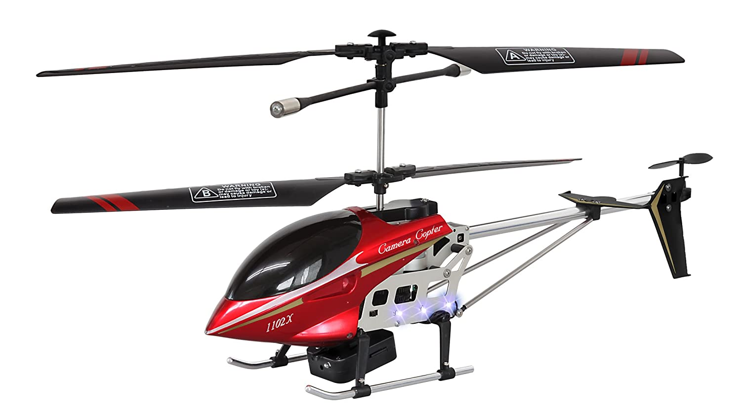 RC Helicopter - Camera Copter (rot)