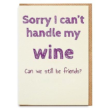 Tarjeta de cumpleaños para vino, tarjeta de cumpleaños ...