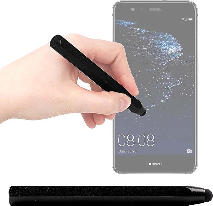 DURAGADGET Lápiz Stylus Negro para Smartphone Huawei P10 Lite ...