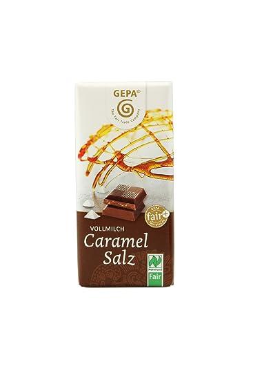 Gepa Mini Tableta Chocolate y Caramelo Sal Bio - 40 gr