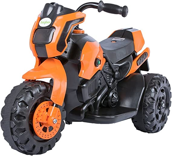 Baybee Damned GS-800 Battery Operated Sports Bike | Single Motor Ride On Bike with 20 Kg Weight Capacity Kids Bike / Bike for Kids / -- Orange