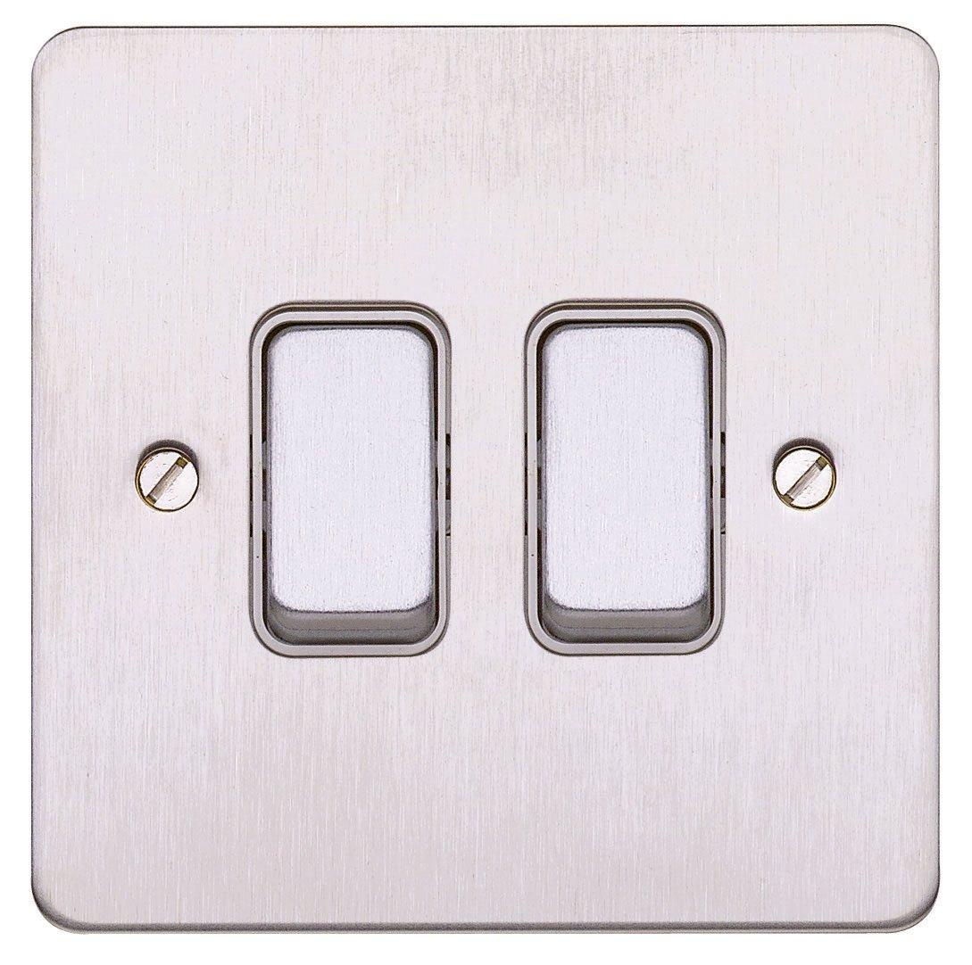 MK Edge K14371BSSW 20A 1-Gang 2-Way Single Pole Switch: Amazon.co.uk ...