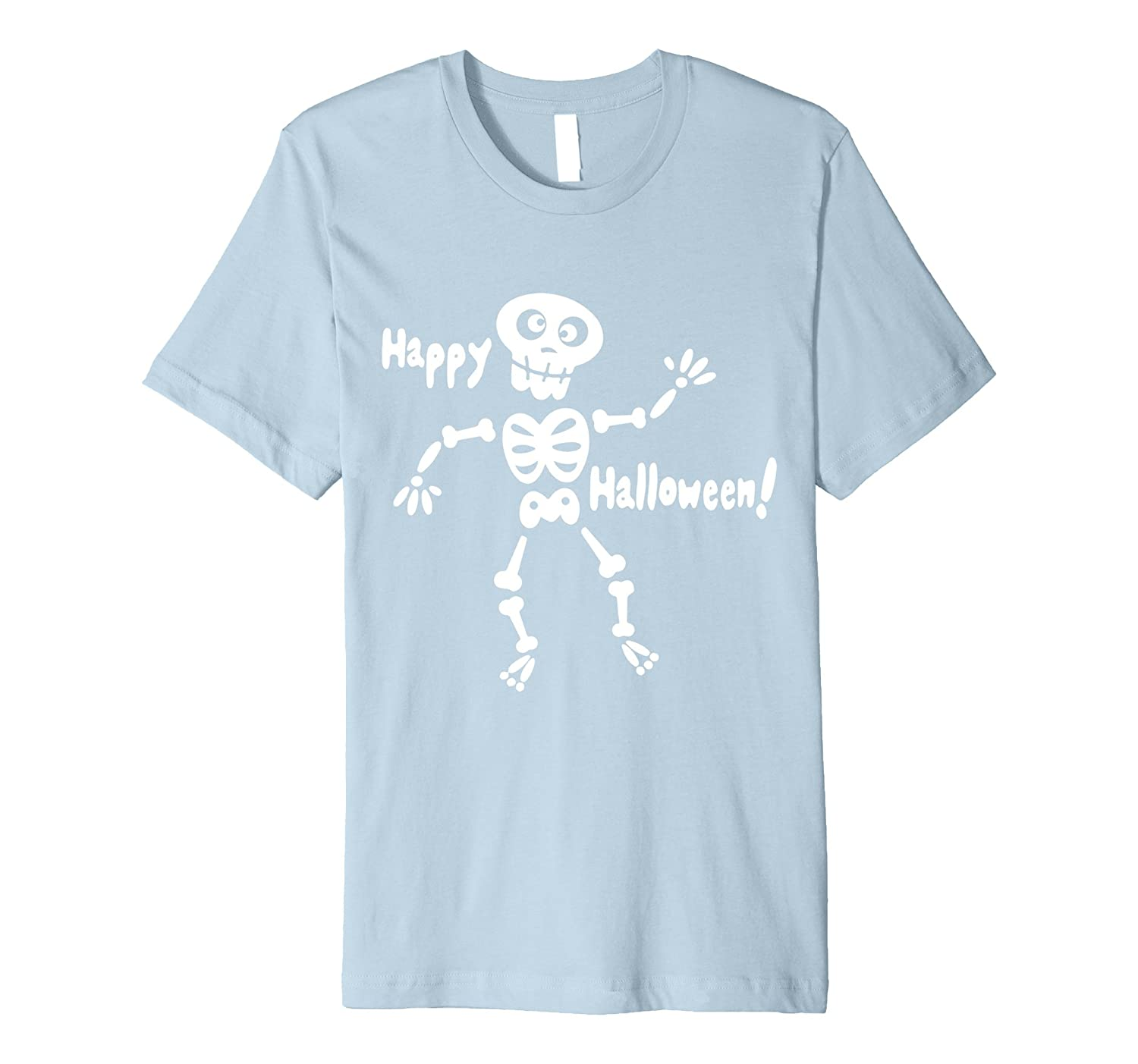 Big Boys Girls Glow In The Dark Skeleton Pre C1 T-shirt-FL