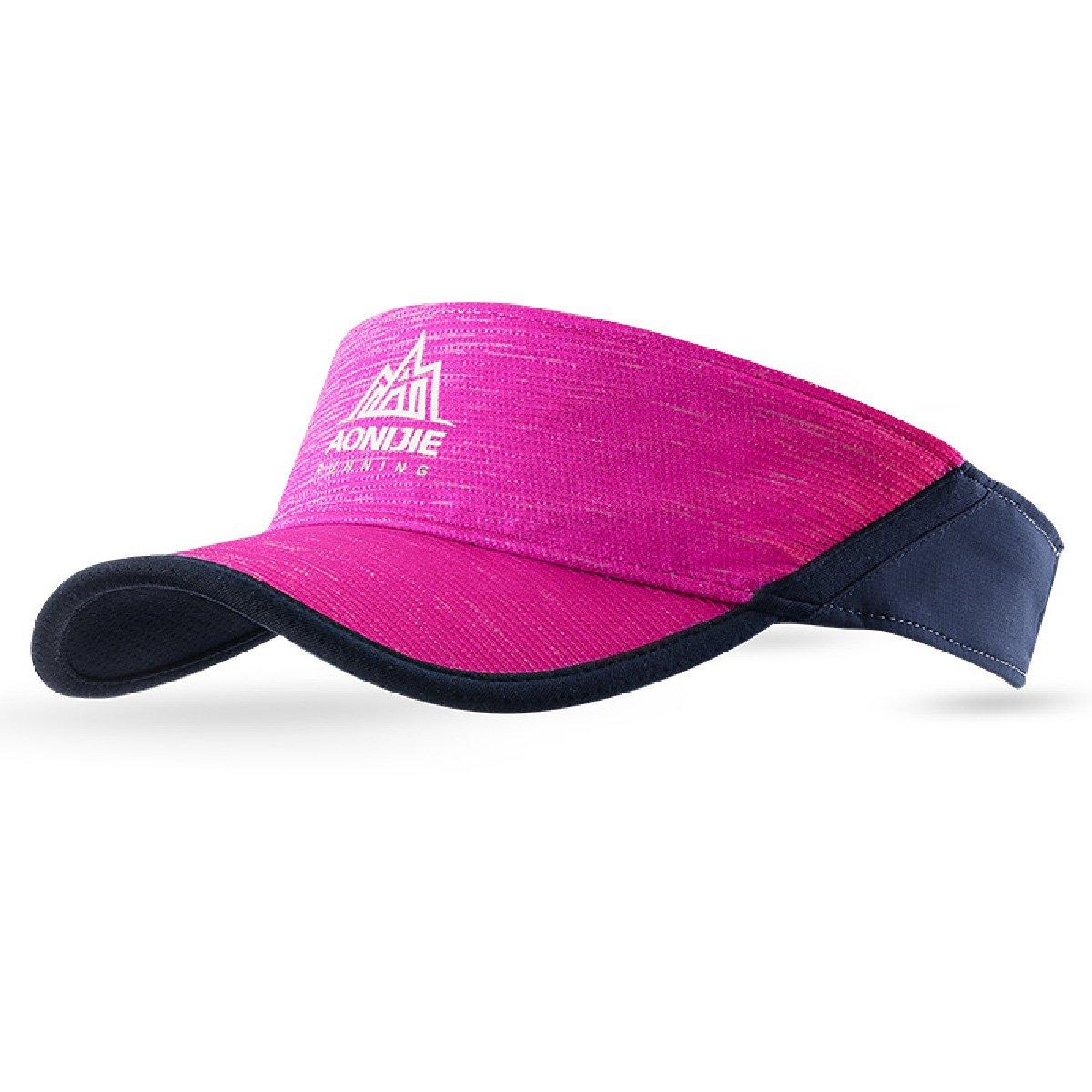 Triwonder Visor Cap Summer Sun Hat Men Women Outdoor Activities & Sports (Blue) OS1526BE