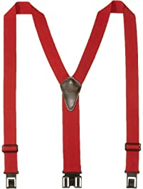 1ff85201a Dickies Heavy Duty Clip Suspenders - Men s Adjustable Y Back Straps with  Clips for Work Pants