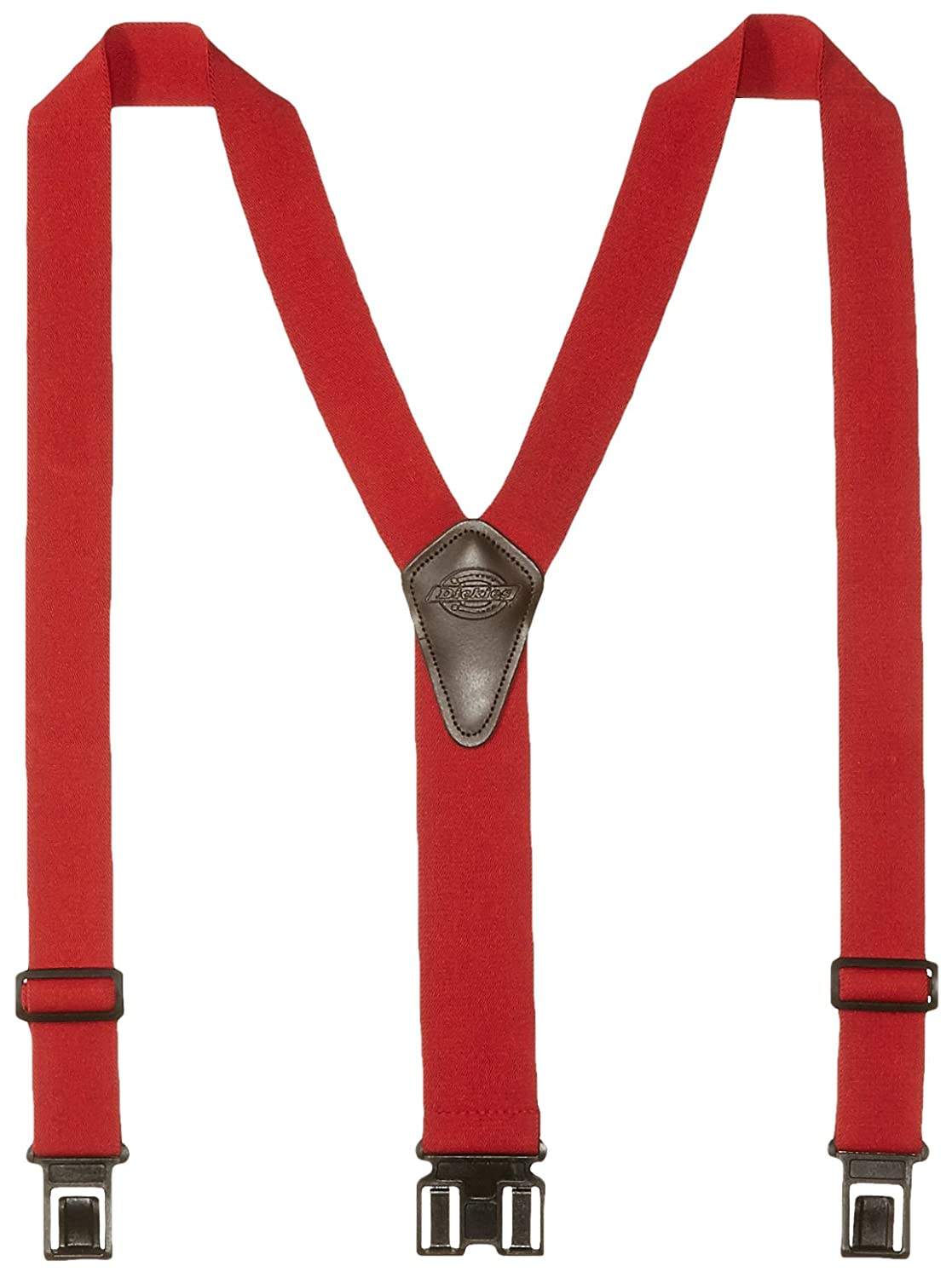Dickies Men's Perry Suspender Black One Size 21DI5300-Black-One Size